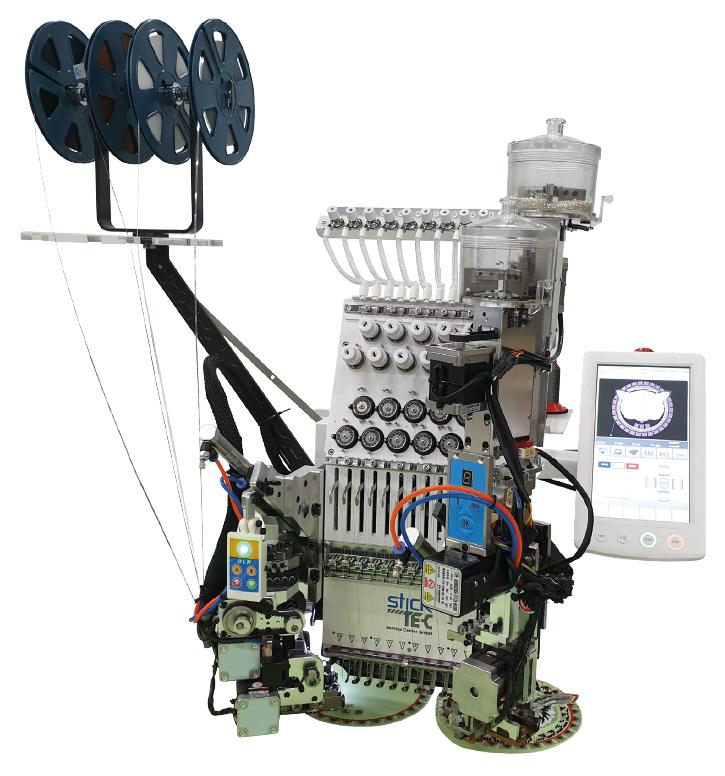C2-1201/XL/S/B Einkopf Kompakt Stickmaschine mit 12 Nadeln