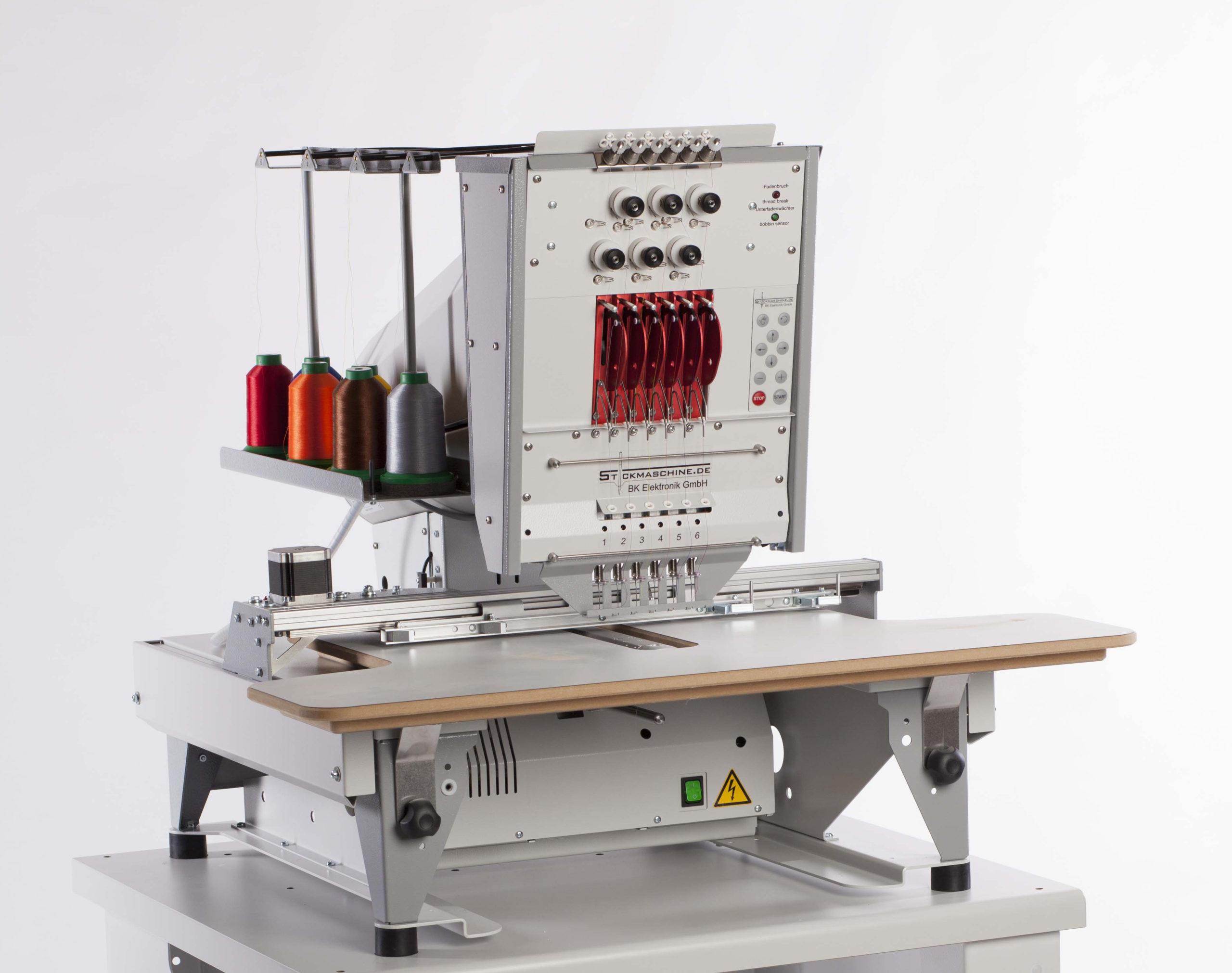 concept-2 Einkopf Kompakt Stickmaschine mit 15 Nadeln