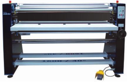 SLS1600 40 Grad beheizbare Oberwalze - Sticktec Lamination System
